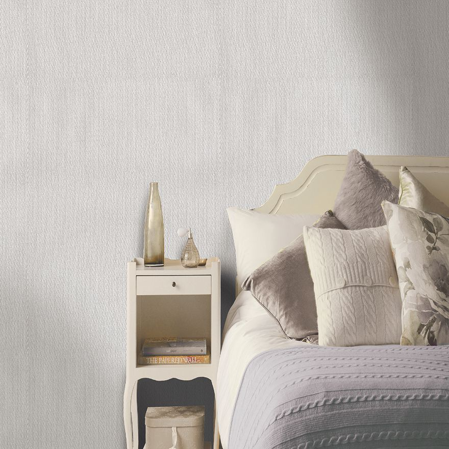 Holden Decor Weave Grey 35629 Wallpaper