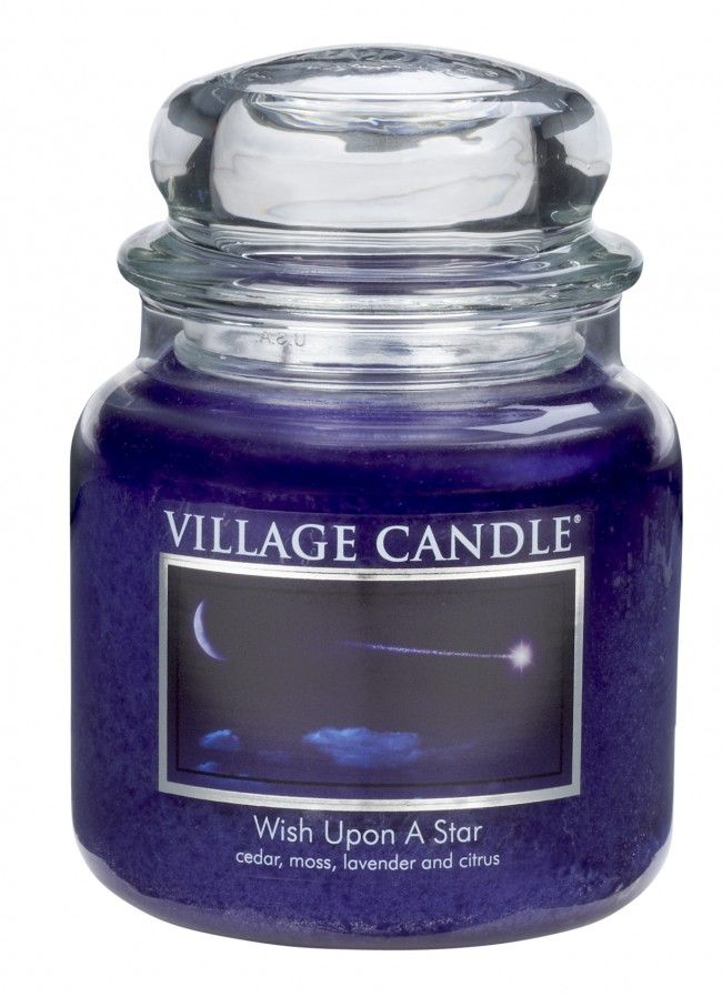 Village Candle Wish Upon A Star (Select Size)