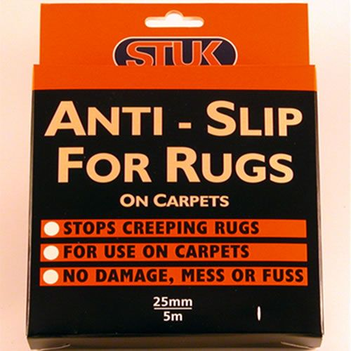 Anti Slip for Rugs on Soft Floors