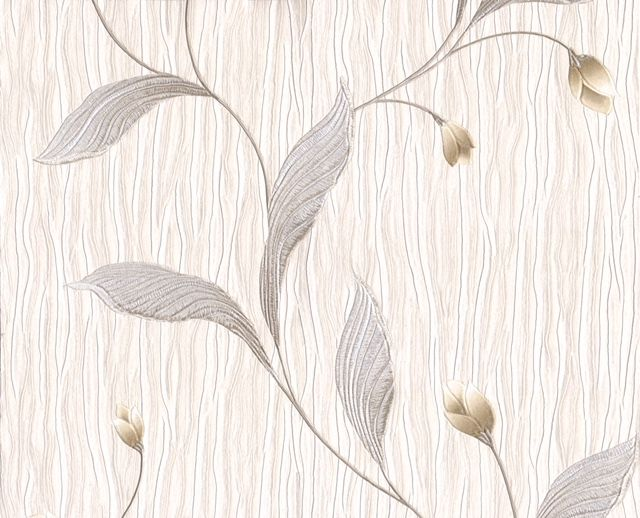 Belgravia Tiffany Platinum Silver Trail GB161 Wallpaper
