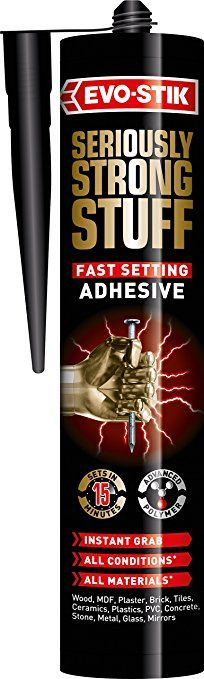 Evo Stik Strong Stuff Fast Setting White c20