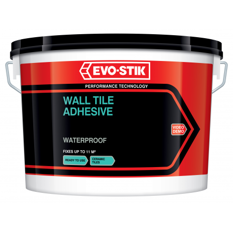 Evo - Stik Waterproof Wall Tile Adhesive (Select Size)