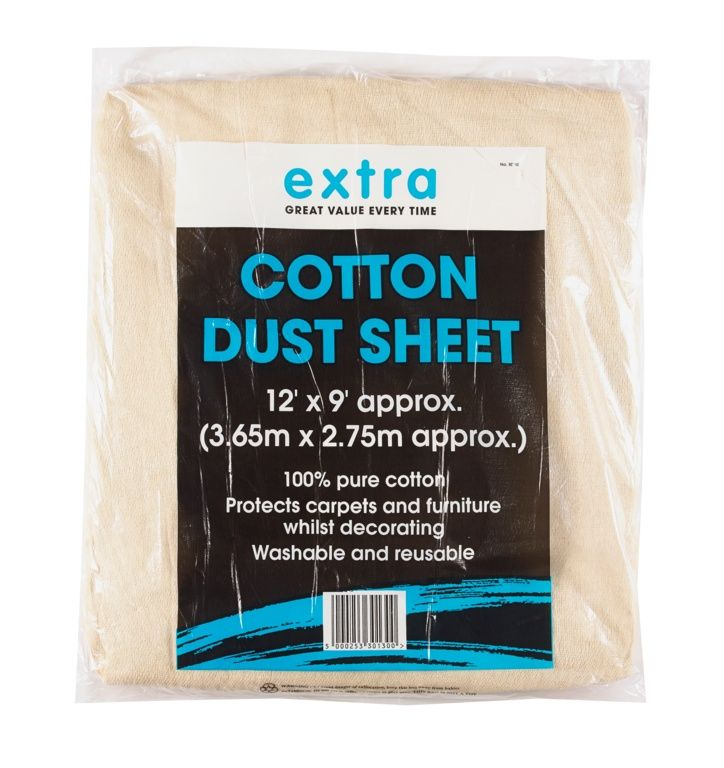 Extra Cotton Sheet - 12ft x 9ft