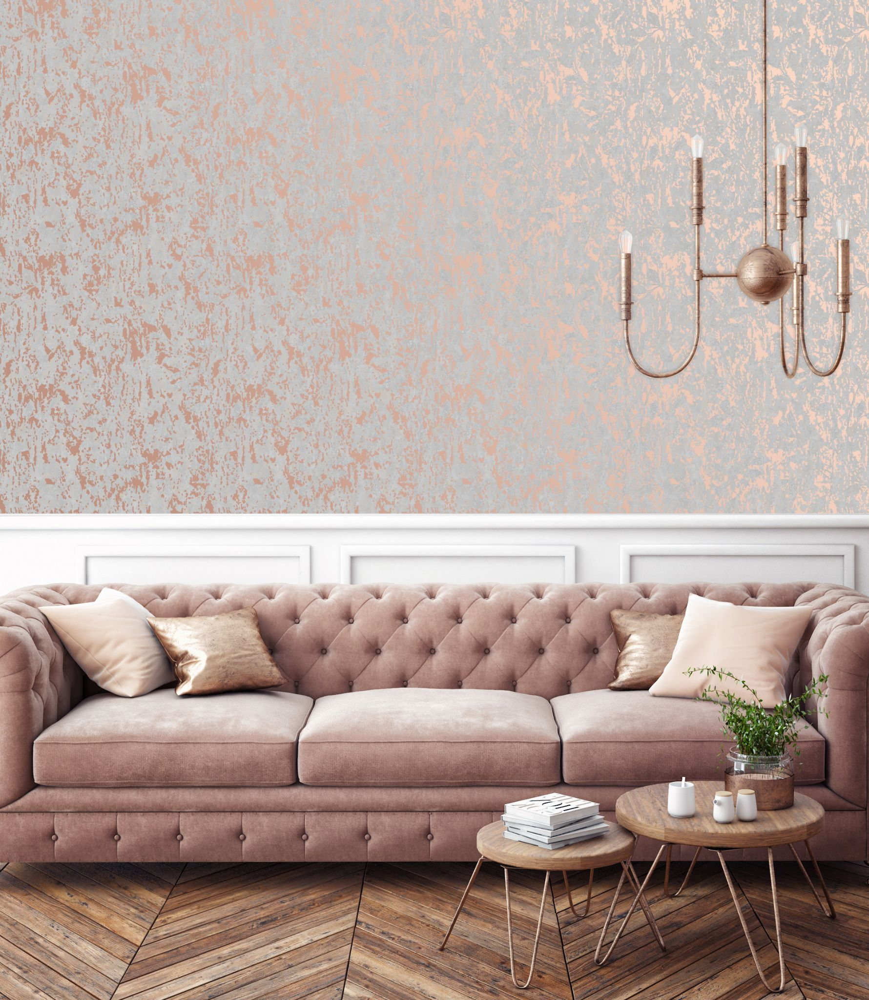 Strange Graham And Brown Milan Rose Gold 106401 Wallpaper Lamtechconsult Wood Chair Design Ideas Lamtechconsultcom