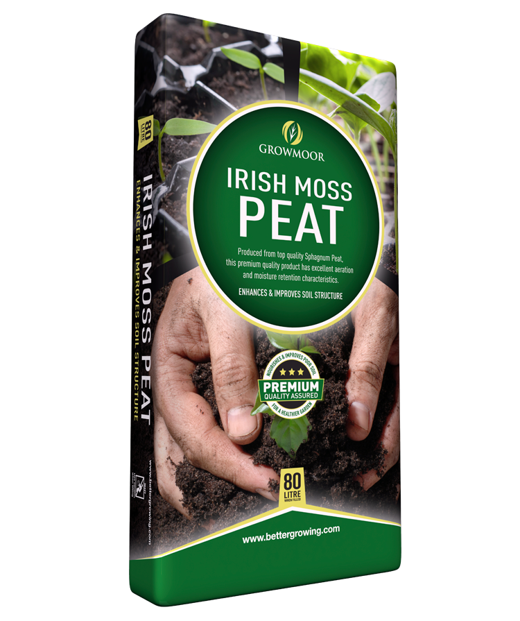 Growmoor Irish Moss Peat Compost 80LTR