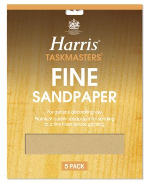 Harris Sandpaper Fine (Pack of 10)