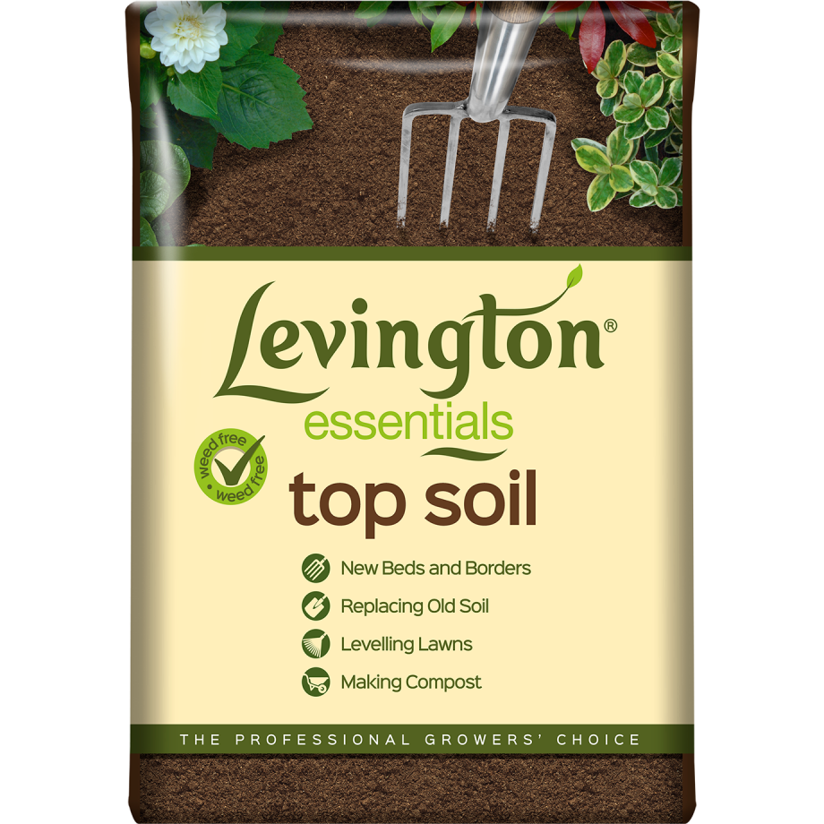 Levington Essentials Top Soil Compost 35LTR