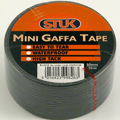 Mini Gaffa Tape Black