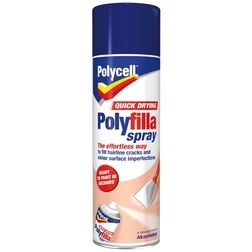 Polycell Quick Dry Polyfilla Spray