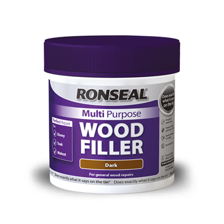 Ronseal Multi-Purpose Wood Filler 250g (Select Colour)