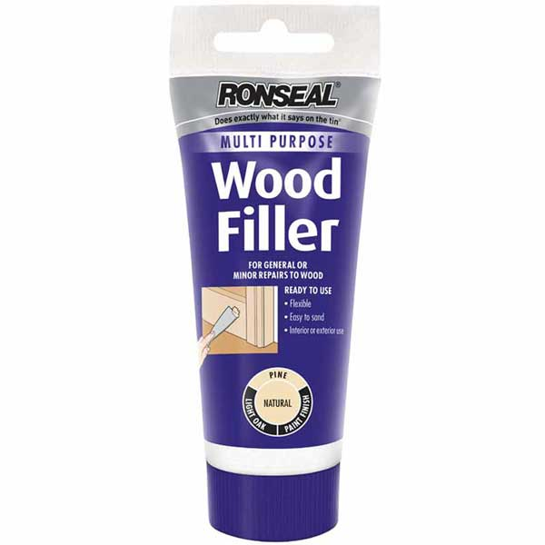 Ronseal Woodfiller Squeezy 100g (Select Colour)