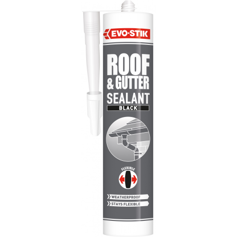 Roof and Gutter Sealant Black c20