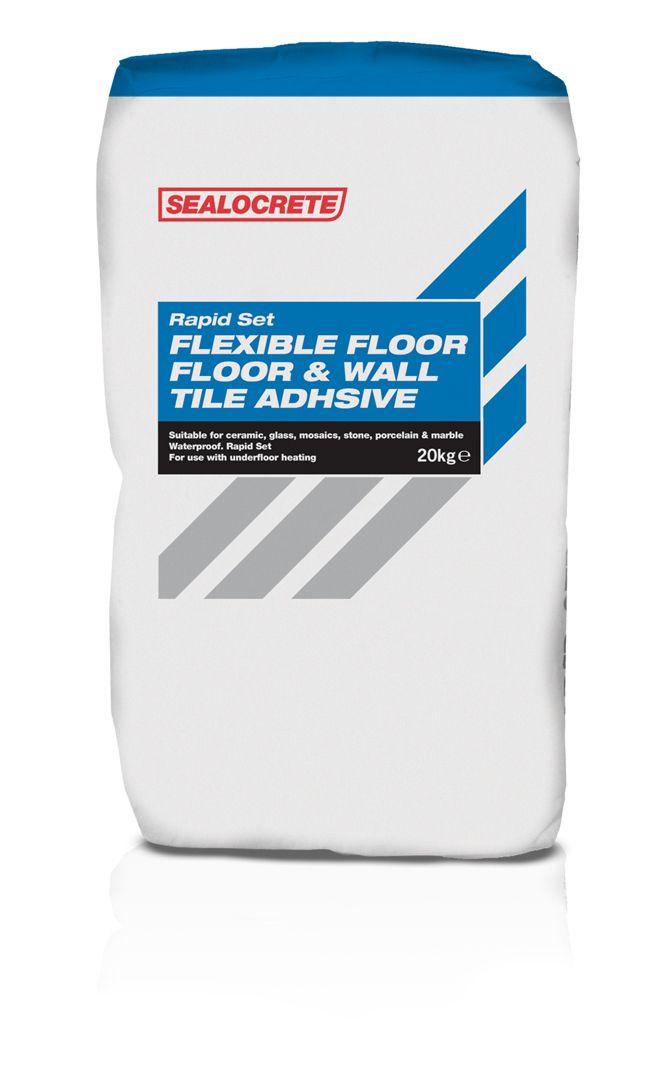 Sealocrete Flexible Rapid Set Floor Wall Tile Adhesives 20kg
